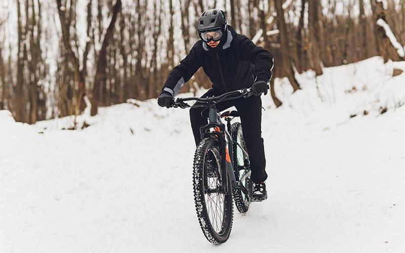zimné bicyklovanie